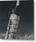 Concrete Post No 1 7257 Metal Print