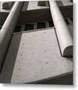 Concrete Upwards Metal Print