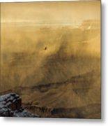 Condor In A Storm Metal Print