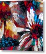 Cone Flower Fantasia I Metal Print