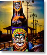 Coney Island Beer Metal Print