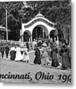 Coney Island In Cincinnati 1908 Metal Print