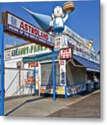 Coney Island Memories 11 Metal Print
