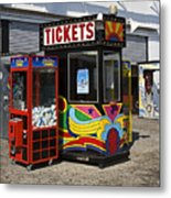 Coney Island Memories 3 Metal Print