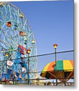 Coney Island Memories 6 Metal Print