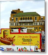 Coney Island Memories 9 Metal Print