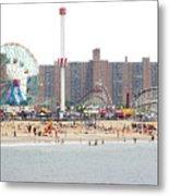 Coney Island, New York Metal Print