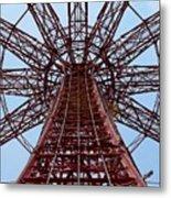 Coney Island Parachute Jump 01 Metal Print