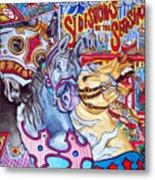Coney Island Runaway Metal Print