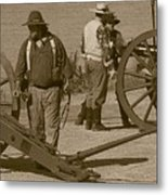 Confederate Batteries On The Missouri Metal Print