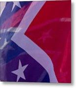 Confederate Flag 6 Metal Print
