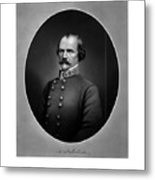 Confederate General Albert Sidney Johnston Metal Print