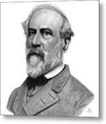 Confederate General Robert E Lee Metal Print