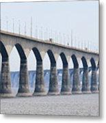 Confederation Bridge 5511 Metal Print