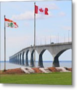 Confederation Bridge 5524  Metal Print