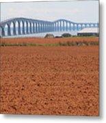 Confederation Bridge 5531 Metal Print