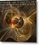 Conflict In The Heavenly Realms Metal Print