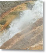 Conflict Of Forms Metal Print