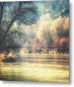 Confluence Metal Print