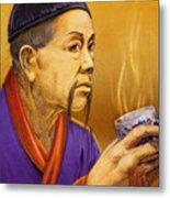 Confucian Sage Metal Print