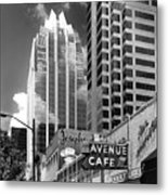 Congress Avenue Vista Metal Print