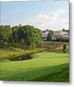 Congressional Blue Course - The Finish - Par 4 18th Metal Print