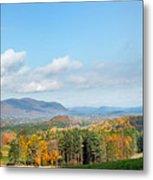 Connecticut Scenic Vista Metal Print
