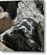 Connecticut Stones Metal Print