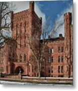 Connecticut Street Armory 3997a Metal Print