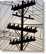 Connection Overload Metal Print