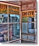 Connelly Bros Store. Metal Print