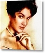 Connie Francis, Music Legend By John Springfield Metal Print