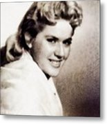 Connie Stevens, Vintage Actress Metal Print
