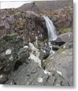 Connor Pass Waterfall Metal Print