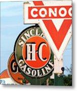 Conoco Sign 081117 Metal Print