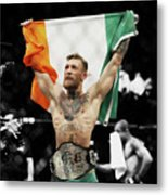 Conor Mcgregor 2b Metal Print