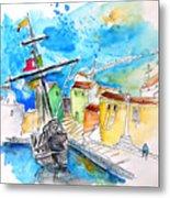 Conquistador Boat In Portugal Metal Print