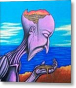 Conscious Thought Metal Print