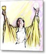Consecration  Metal Print