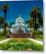 Conservatory Of Flowers - San Francisco Metal Print