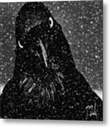 Conspiracy In The Snow Metal Print