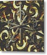 Conspirators Of The Crown Metal Print