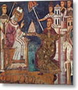 Constantine I (c280-337) Metal Print