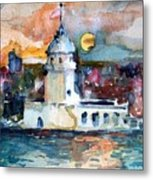 Constantinople Turkey Metal Print