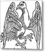 Constellation: Aquila Metal Print