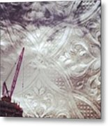 Constructed Filigree Metal Print