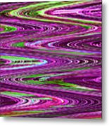 Construction Color Abstract P Metal Print