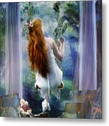 Contemplation Metal Print by Mary Hood