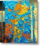 Contemporary Jungle No. 3 Metal Print