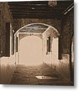 Conti Alley Metal Print